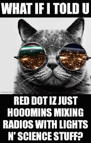 Morpheus Cat Meme - red dot morpheus cat what if i told you meme on imgfave