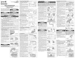 garage door opener installation instructions i99 about remodel