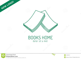publish house book house roof template logo icon back to stock vector