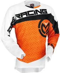 Moose Racing S7 Sahara Jersey Motocross Jerseys Orange Black