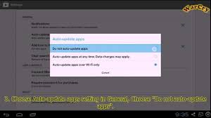 android disable auto update android how to disable auto update apps in android bluestacks
