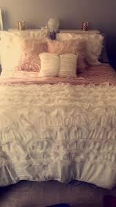 White Ruffle Crib Bedding Nursery Beddings Custom Baby Bedding Sets With White Ruffle Crib