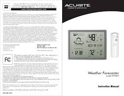 acu rite weather radio 75077 user guide manualsonline com
