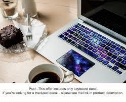 macbook keyboard sticker macbook decal stardust macbook decal