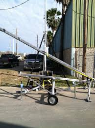 light pole setting better way to service light poles light pole