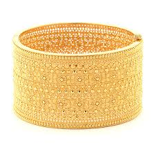 cuff bracelet with gold images Indian 22kt gold cuff bracelet kundan various indian jewelry jpg
