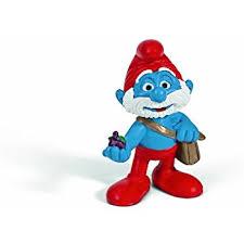 amazon schleich north america papa smurf figure toys u0026 games
