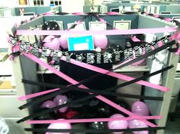 office design office cube decorating ideas birthday office
