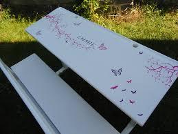 bureau écolier relooké ancienne table d écolier la déco de gégé