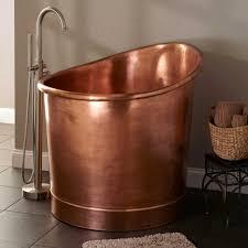bathroom bathup copper whirlpool tub clawfoot bathtub