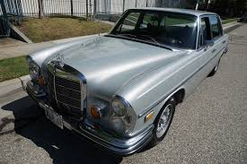 classic mercedes sedan 1969 mercedes benz 300sel 6 3 black leather stock 340 for sale