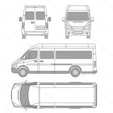 volkswagen bus clipart van clipart top view clipartxtras