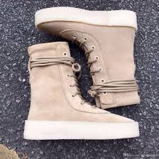 womens boots made in spain 2016 kanye season 2 crepe boot boot high cut made in