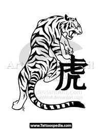 and further japanese kanji tattoos along with tiger tattoos