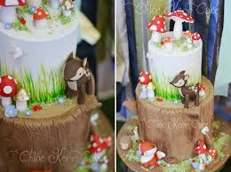 baby deer cakes for a woodland party or baby shower cake geek