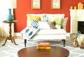 Fall Living Room Ideas by Fall Into Orange Living Room Accents For All Styles Mesmerizing