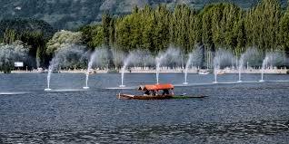 boating at dal lake srinagar a photo from jammu and kashmir