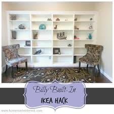 Billy Bookcase Hack Built In Billy To Built Ins Ikea Hack Home Made Interest