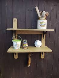 woods vintage home interiors reclaimed two tier kitchen shelf by woods vintage home interiors