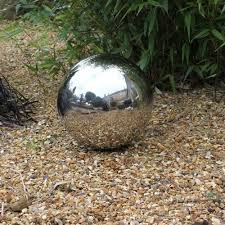 40cm stainless steel sphere decorative garden ornament co