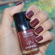 chanel exception nail polish late fall 2014 review bay area
