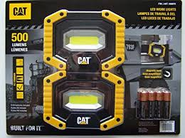 cat 324122 rechargeable led work light cat led work lights 500 lumens rugged magnetic rotating handle