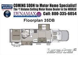 Rv Floor Plans Class C by 2018 Dynamax Corp Isata 5 Series 35db Super C Bunk House Rv For