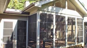 diy porch enclosure eze breeze kits my sunroom llc youtube