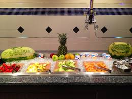 Breakfast Buffet Niagara Falls by Fruit Station On The Breakfast Buffet At The Ports Of Call