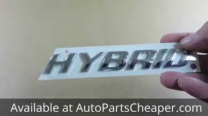 toyota hybrid logo new ford hybrid emblem decal nameplate name plate genuine