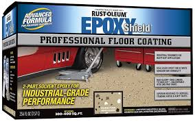 Rock Solid Garage Floor Reviews by Rustoleum Epoxyshield Garage Floor Coating Review Homeluf