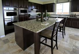 dark kitchen cabinets with dark countertops