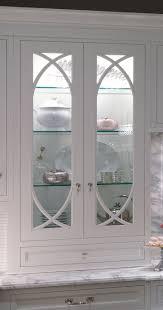 wood raised door winter white kitchen cabinet glass inserts