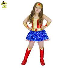 Woman Superhero Halloween Costumes Lovely Woman Superhero Fancy Costume Halloween Party