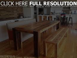 Homemade Kitchen Table by Kitchen Table Bench Seating Plans Bench Decoration