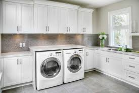 Laundry Room Cabinet Modern Laundry Room Ideas With Custom Enclosures Utility Room