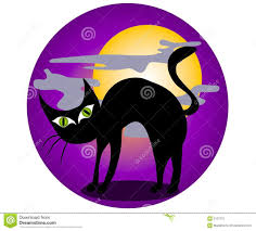 black cat halloween clip art stock photography image 3131372