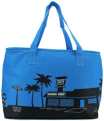 reusable fashion tote bag from trader joes heavy duty cotton