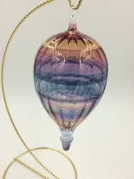 blown glass air balloon ornament objects of desire artful living