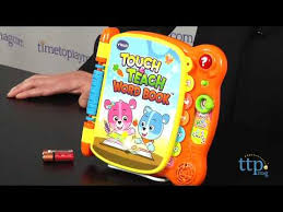 Vtech Write And Learn Desk Touch U0026 Teach Word Book From Vtech Youtube