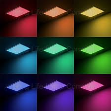 colour changing led ceiling lights rgb 40w surface mount led ceiling panel colour changing mood light