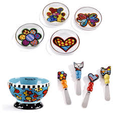 owl canisters for the kitchen romero britto products
