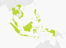 Southeastern Asia Map by Map Of South East Asia Tomtom