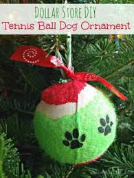 diy tennis ornament my tree wouldn t last 5 minutes dogs