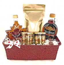 canada gift baskets o canada maple gift basket maple syrup martinette
