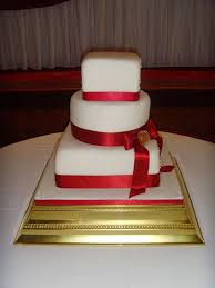 wedding cakes red white and blue wedding cake decorations red