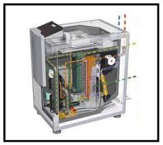 pompa di calore interna riscaldamento e refrigerazione con pompa di calore geotermica