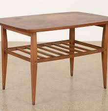 lane mid century modern coffee table lane danish mid century modern walnut side table ebth