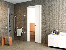 Sliding Bathroom Door by Sliding Pocket Door Systems And Photos Madlonsbigbear Com