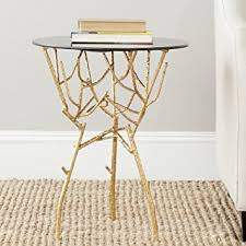 Gold Accent Table Safavieh Home Collection Tara Gold Accent Table